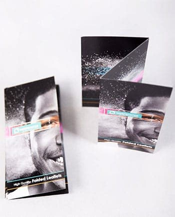 Folded Leaflets - Simple and easy with added flexibility