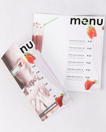Menus - Tempt tastebuds with our high quality menus