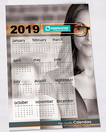 Wall Calendars - Brand visibility 365 days a year