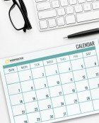 Deskpad Calendars - Don't miss a single day of marketing!