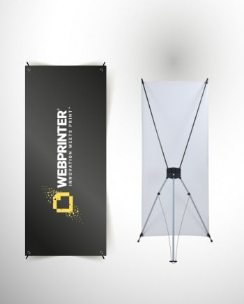 X-Banners | Lightweight and easy to assemble