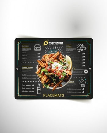 Placemats | Personalise the dining experience