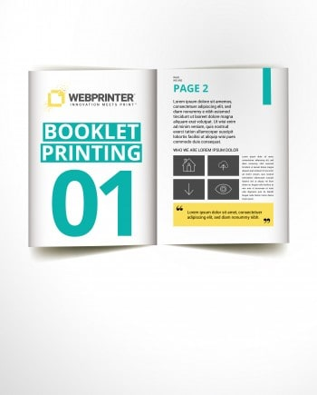 Booklets | Versatile enough to suit every need