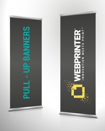 Pull-up Banners | Quick, easy and high impact